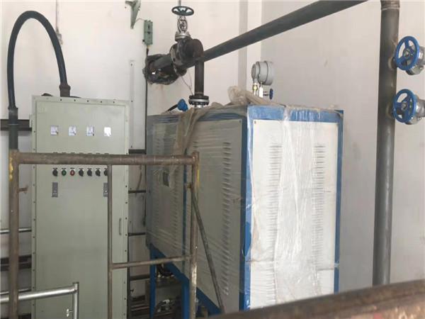 与齐齐哈尔某某公司合作的导热油炉电加热器