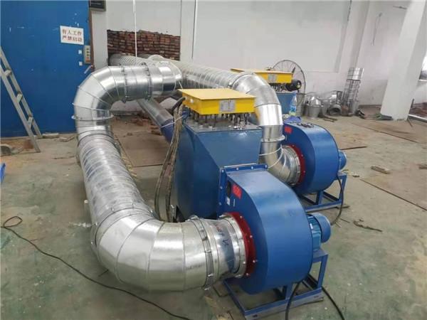 与黑龙江某某公司合作的风道加热器